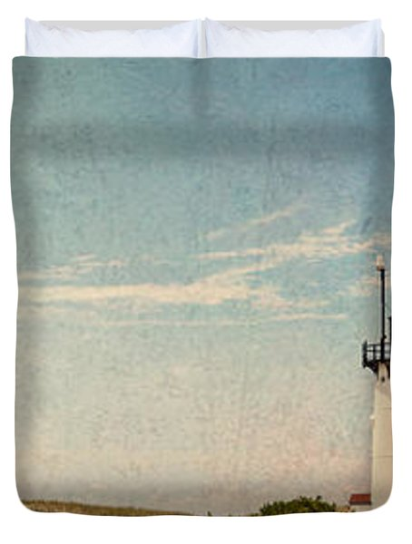 Race Point Light Duvet Cover