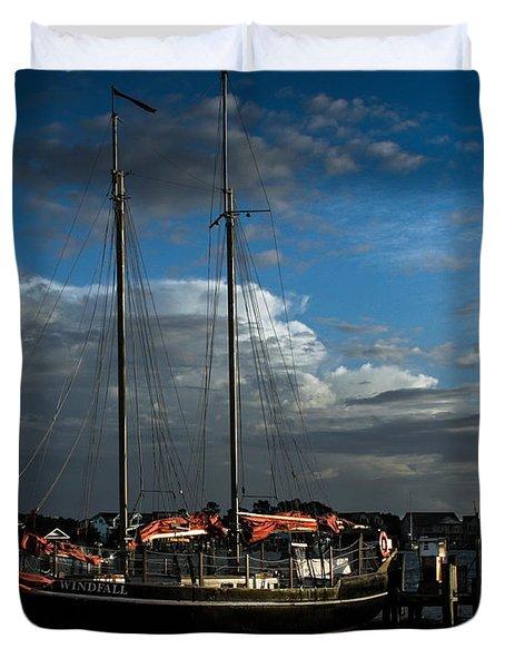 Ready To Sail Duvet Cover
