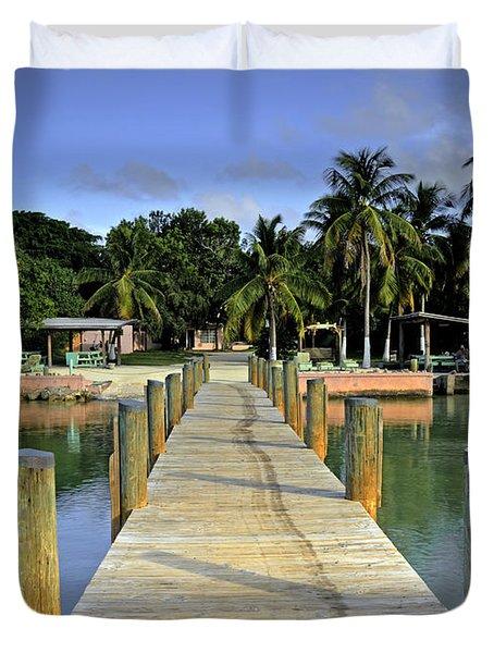 Resort Duvet Cover by Bruce Bain