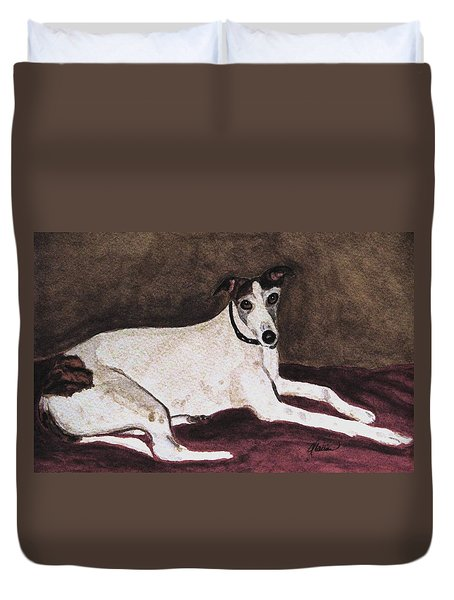 Resting Gracefully Duvet Cover by Angela Davies