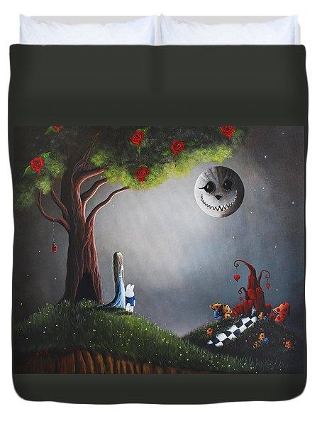 Alice In Wonderland Original Artwork Duvet Cover