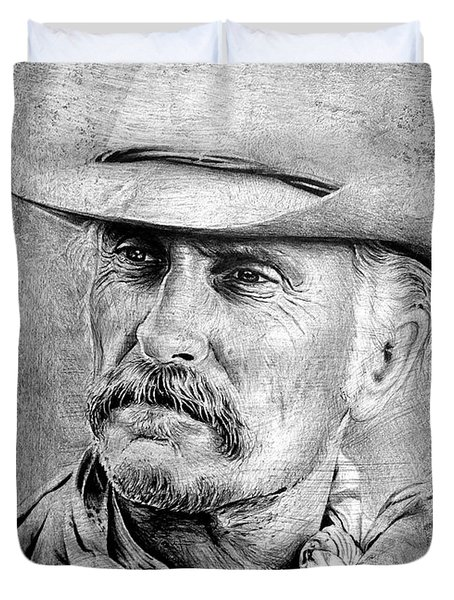 Robert Duvall Duvet Cover