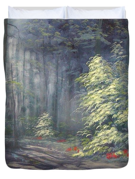 Roena King - Christmas Light Duvet Cover