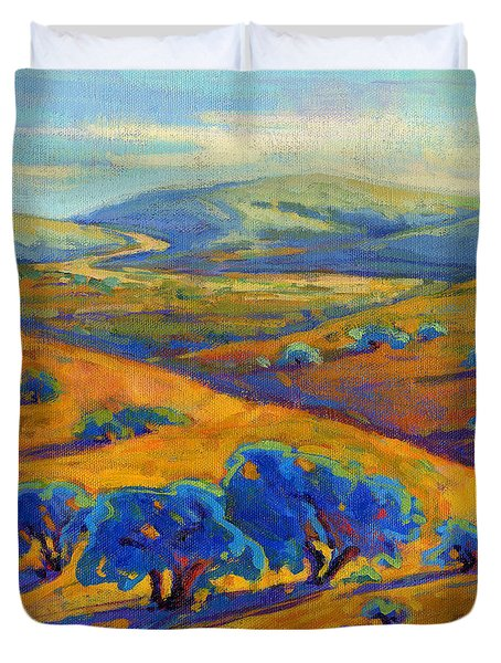 Rolling Hills 1 Duvet Cover