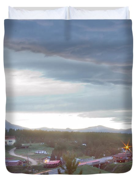 Rollinsville Colorado Duvet Cover by James BO  Insogna