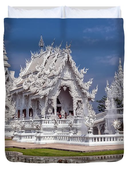 Rong Khun Temple Duvet Cover