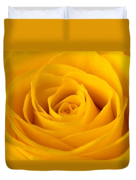 Rose Duvet Cover by Scott Carruthers