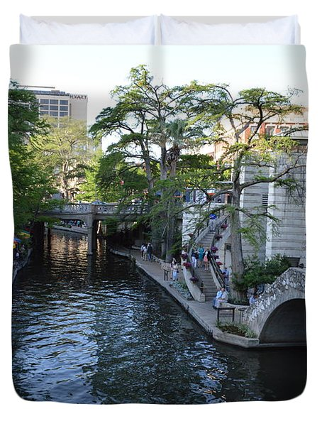 Sa River Walk 2 Duvet Cover