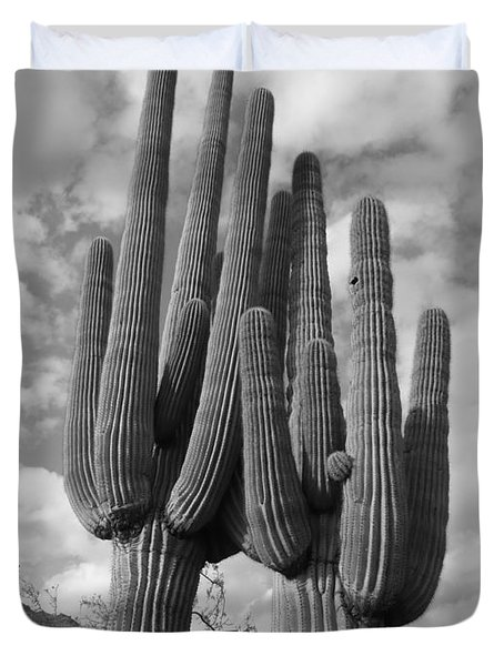 Saguaro Love Duvet Cover