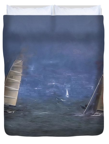 Sailing  ... Duvet Cover