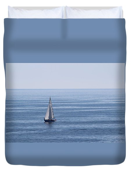 Maine Coast  Duvet Cover