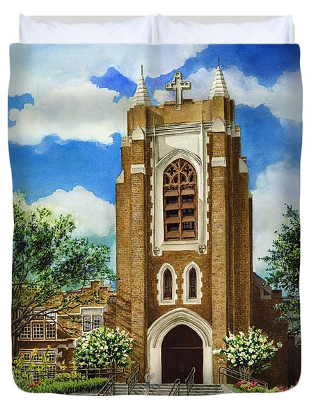 Saint Andrews Episcopal Church Bryan Texas Duvet Cover