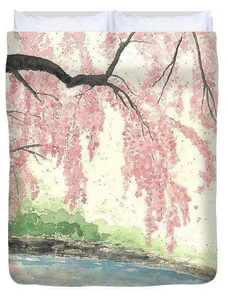 Sakura II Duvet Cover