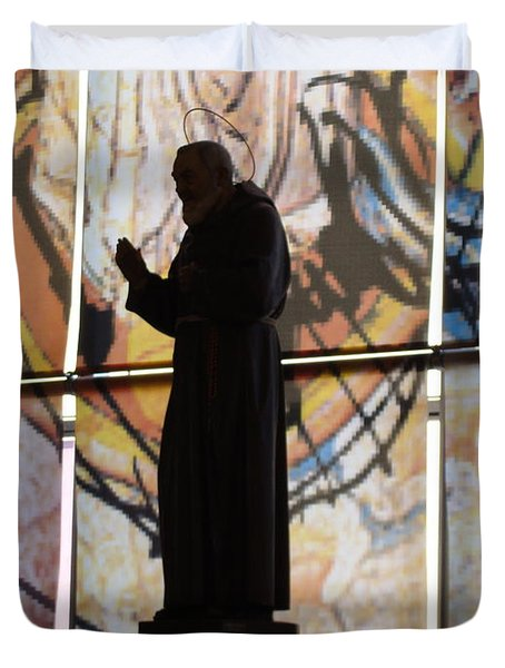 San Pio Duvet Cover