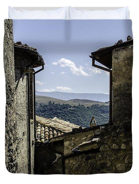 Santo Stefano Di Sessanio - Italy  Duvet Cover