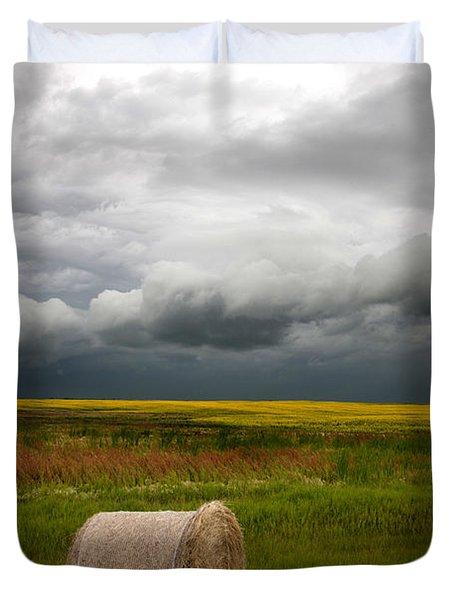 Saskatchewan Storm  Duvet Cover