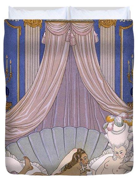 Scene From 'les Liaisons Dangereuses' Duvet Cover