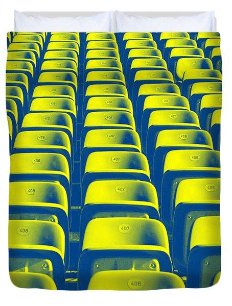 Seats Duvet Cover