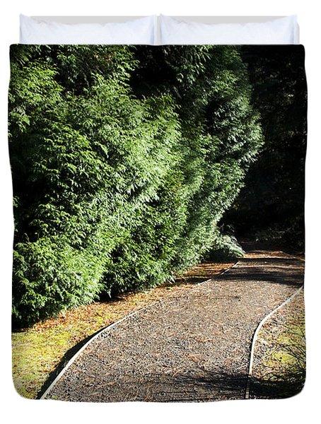 Secret Garden Path Duvet Cover
