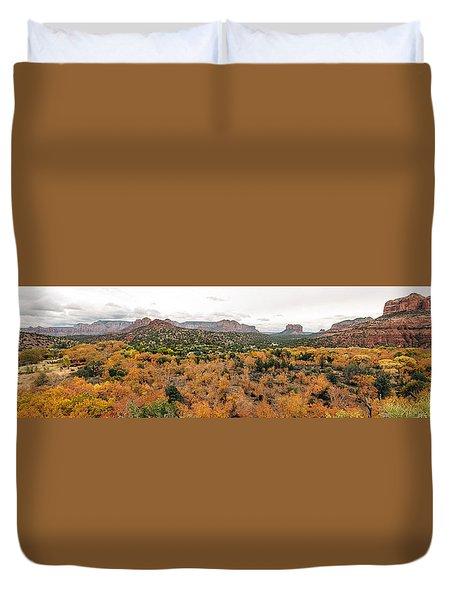 Sedona Panorama Duvet Cover