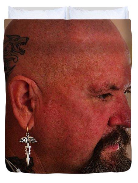 Self Portrait Duvet Cover by Blair Stuart