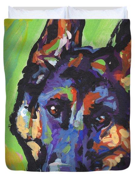 Sheppy Duvet Cover by Lea S