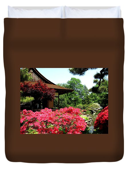 Shofusu Duvet Cover by Christopher Woods