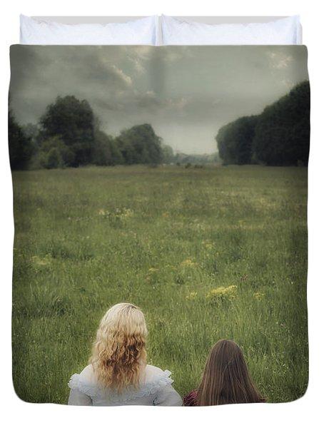Sisters Duvet Cover by Joana Kruse