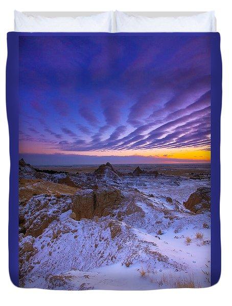 Sky Lines Duvet Cover by Kadek Susanto