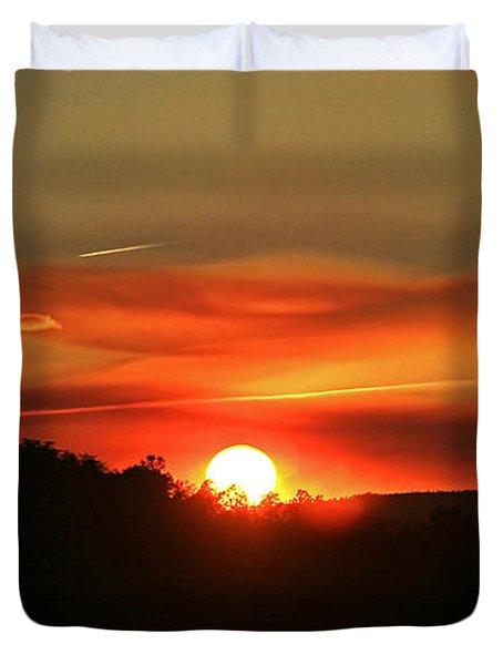 Smokin' Payson Sunset Duvet Cover