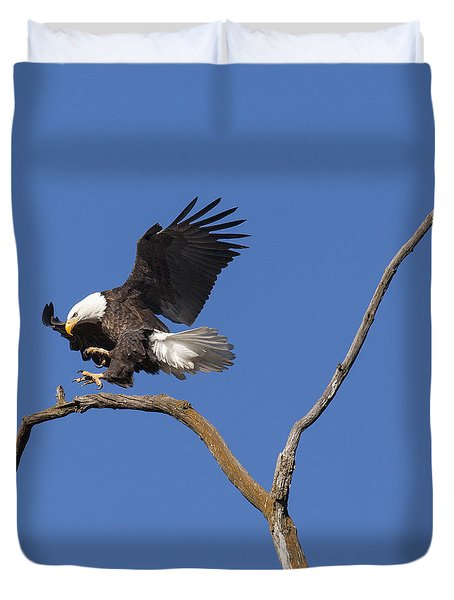 Smooth Landing 5 Duvet Cover