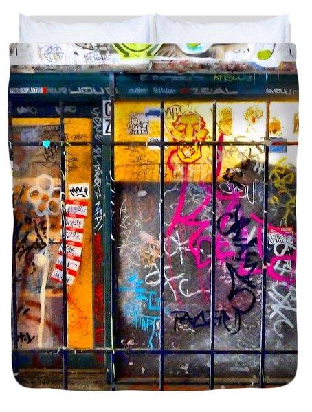 Social Conscience Duvet Cover by Lauren Leigh Hunter Fine Art Photography