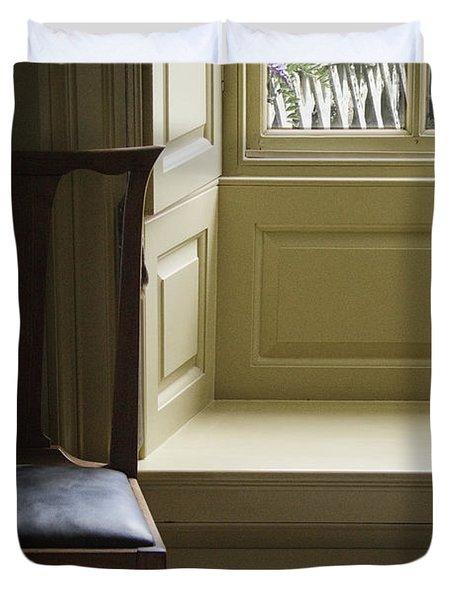 Solitude Duvet Cover by Margie Hurwich