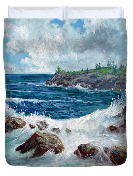 Solitude Duvet Cover by Philip Lee