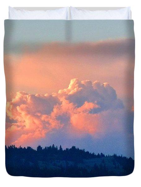 Soothing Sunset Duvet Cover