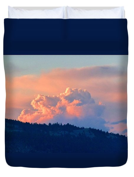 Soothing Sunset Duvet Cover by Will Borden