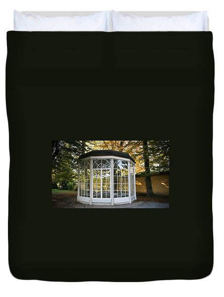 Sound Of Music Gazebo Duvet Cover