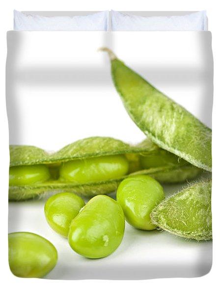 Soy Beans Duvet Cover by Elena Elisseeva