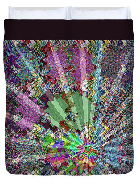Sparkle Focus Graphic Chakra Mandala By Navinjoshi At Fineartamerica.com Fineart Posters N Pod Gifts Duvet Cover by Navin Joshi
