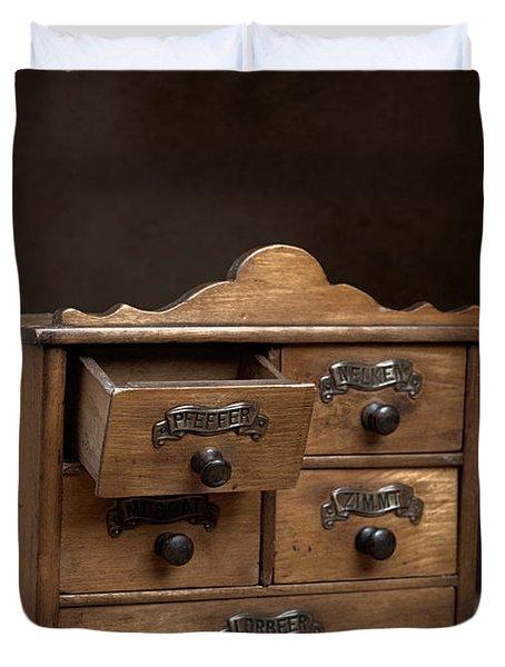 Spice Cabinet Duvet Cover