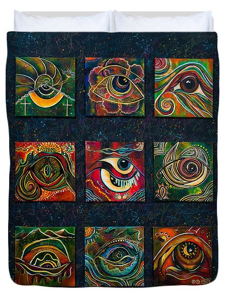 Spirit Eye Collection II Duvet Cover
