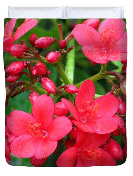 Lovely Spring Flowers Duvet Cover