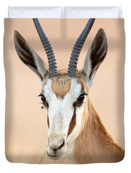 Springbok Portrait Duvet Cover