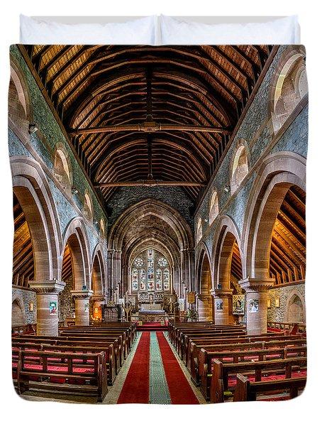 St Mary Duvet Cover