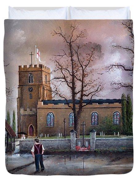 St Marys Church - Kingswinford Duvet Cover