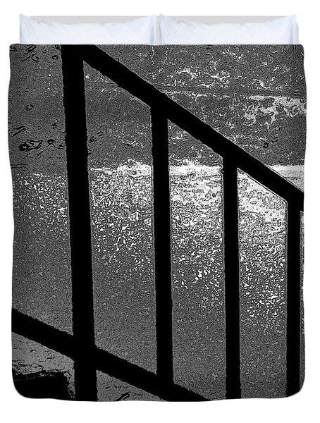 Stairs Duvet Cover by Lenore Senior
