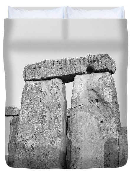 Stonehenge Duvet Cover by Anonymous