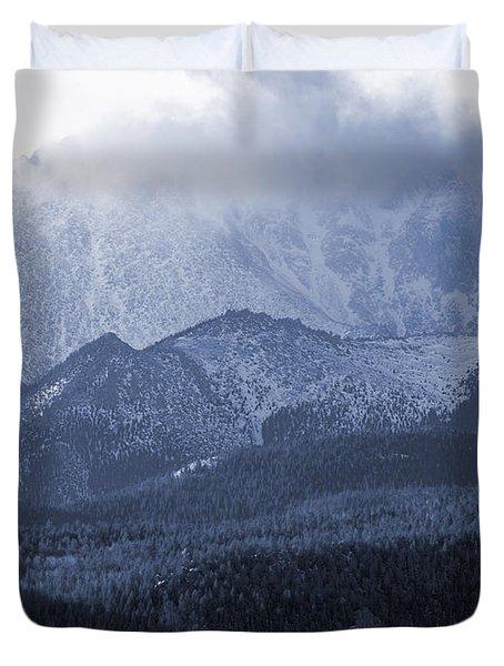 Stormy Peak Duvet Cover