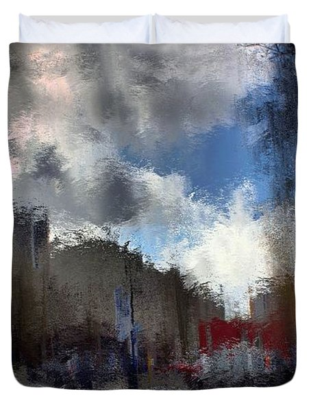 Streetlights 2 Duvet Cover