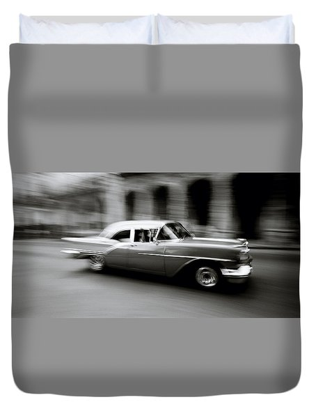 The Zen Of Havana Duvet Cover by Shaun Higson